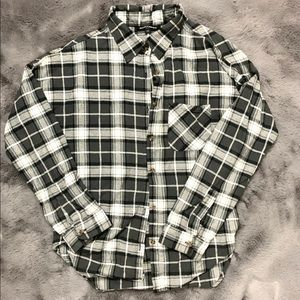 Brandy Melville flannel one size